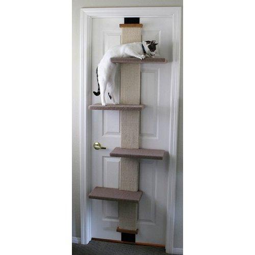 кот лестница-когтеточка
